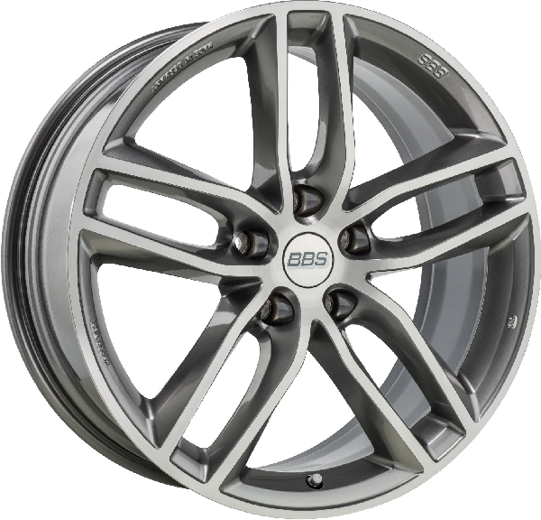 BBS SX Platinum Silver, diamond-cut Image