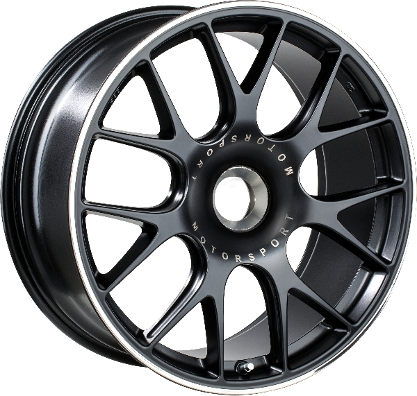 BBS-Forged CH-R (CL) Satin Black, central lock Image