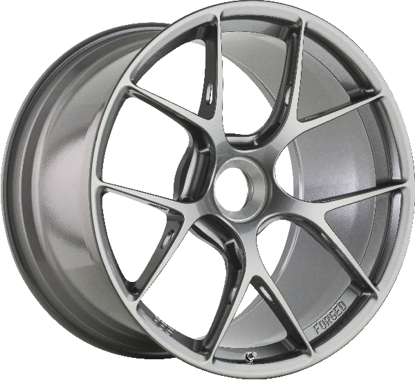 BBS-Forged FI-R (CL) Platinum Silver, central lock Image